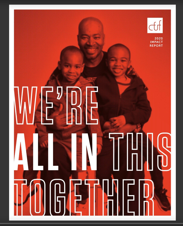 CFUF nonprofit annual report 2020 - cover