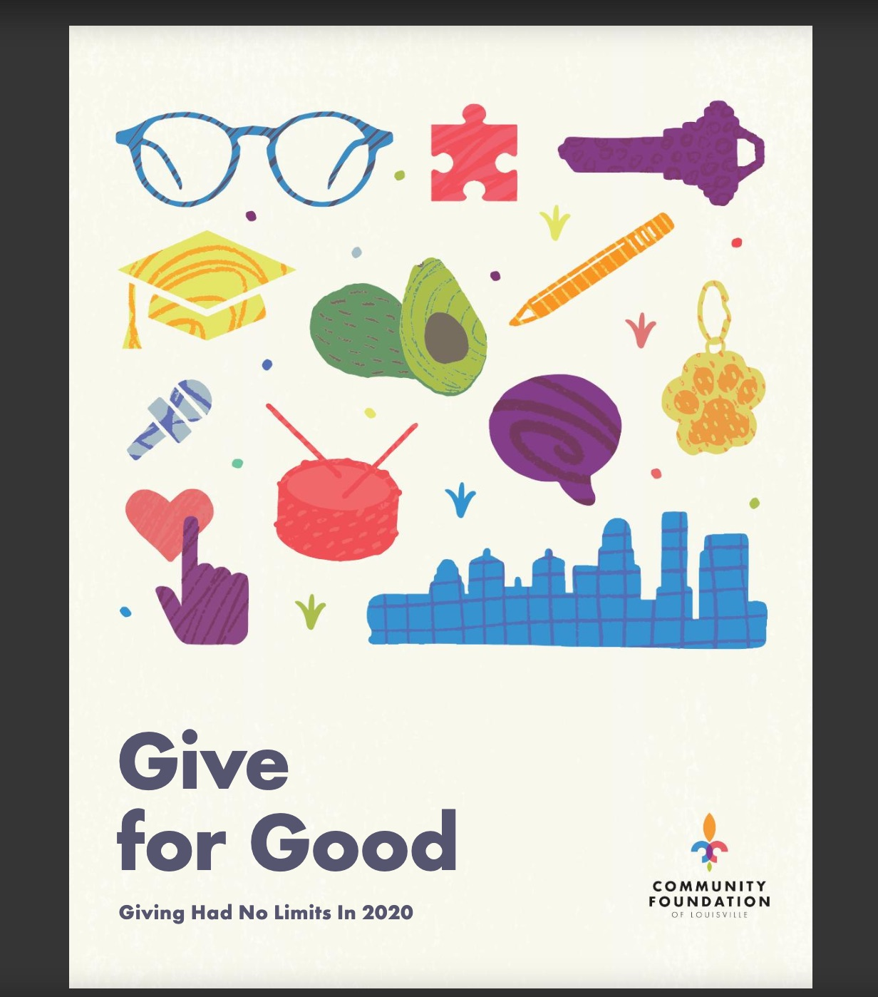 Community Foundation of St. Louis 2020 Nonprofit Annual Report cover