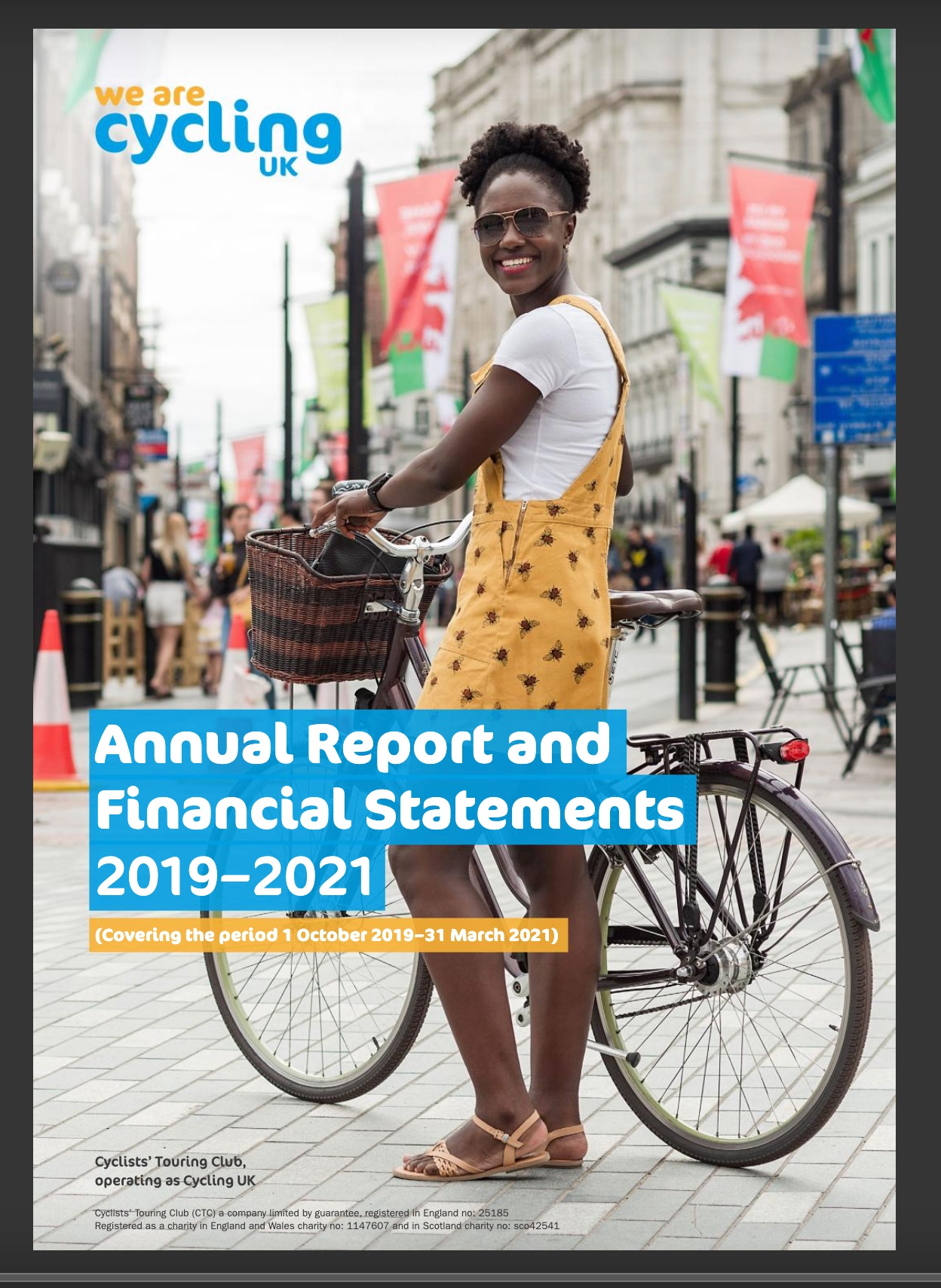 Cycling UK nonprofit impact report cover