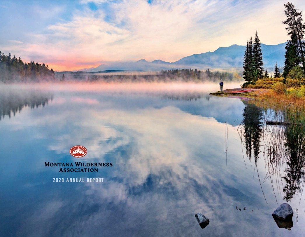 Cover of Wild Montana's 2020 Nonprofit Annual Report